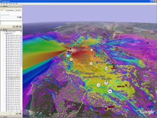 Coverage map view